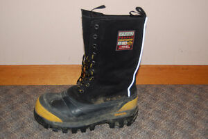 dakota steel toe winter work boots women's size 8