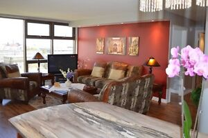 Beautiful South End Halifax 1bd/2bth furnished condo