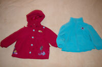 Manteau et veste 2 en 1 pour filles 4 ans