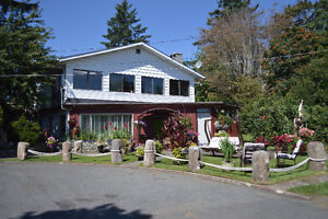 Semi-waterfront Development Property with Income Campbell River Comox Valley Area image 2