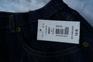 New with Tags Allison Daley Dark Denim Pants