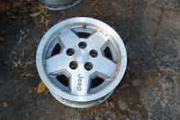 15in factory jeep rims