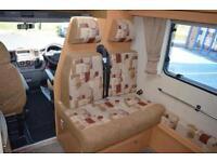 2010 ELDDIS AUTOQUEST MOTORHOME 180 PRESTIGE 6 BERTH 6 BELTED TRAVELLING SEATS 2