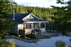 Cabin For Sale - on snow mobile groomed  trail-Hampden Junction