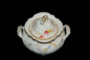 Cauldon Fine China Sugar Bowl