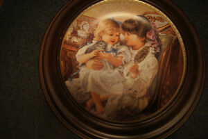 Collector Plate Sister by Sandra Kuck