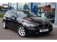 2012 BMW 1 SERIES 116d ES GBP30 TAX, 16andquot; ALLOYS and AIR CON
