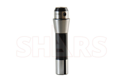 """Shars 1/4"""" Precision R8 End Mill Holder Adapter For Bridgeport Milling Tool New"""