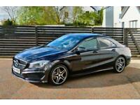 2014 MERCEDES CLA-CLASS AMG SPORT CLA 220 CDI DCT NORTHERN LIGHTS VIOLET