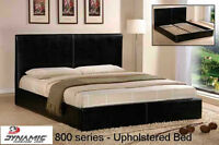 AMAZING Platform Bed Combo Package with Serta Mattress!
