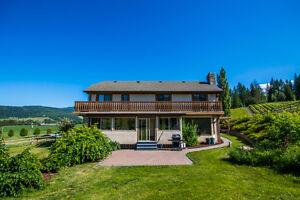 68 McManus Road, Enderby - Private 160 acre in North Okanagan