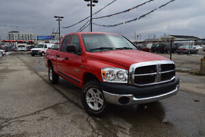 2008 Dodge Power Ram 1500 4WD Quad Cab, Accident Free