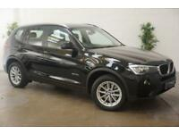 2014 14 BMW X3 2.0 SDRIVE18D SE 5D AUTO 148 BHP PRO NAV BIG SCREEN SAT NAV DIES