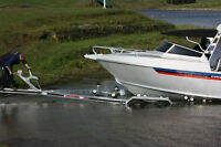 Boat Trailer Rental for Boats upto 34ft and 12,000 Lbs
