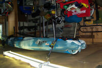 DELUXE FISHING//////RIVER KAYAK-----TOTAL PKG!!!!!!!!!!!!!!