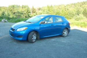 2010 Toyota Matrix in excellent condition