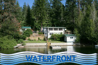 Shuswap LAKE FRONT home Summer weekly rental