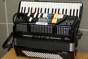 Farfisa Accordion/Accordeon /Midi