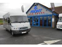2005 HYMER HYMERMOBIL SIGNO 100 MOTORHOME FIAT DUCATO 2.8 DIESEL MANUAL GEARBOX
