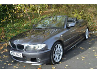2006 BMW 320 2.0TD Cd M Sport Convertible +FULL SERVICE HISTORY+LOW MILEAGE