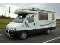 Auto Sleeper Talisman Coachbuilt 4 berth Centre dinette under 6 m long