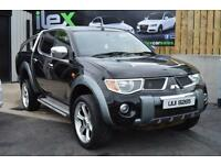 2007 MITSUBISHI L200 2.5 ANIMAL LWB DCB 1D 164 BHP****NO VAT****DVD IN HEADRESTS