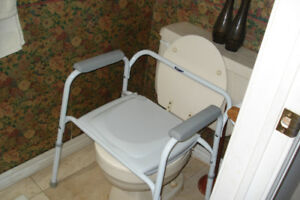 Commodes (Moen + Invacare)
