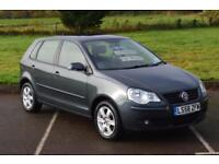 2008 VOLKSWAGEN POLO 1.4 Match 5dr Auto ONLY 7,000 MILES ONE OWNER
