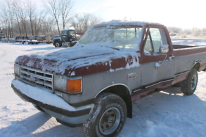 1988 Ford f150 wanted 4x4