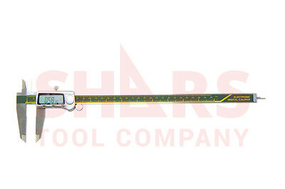 Shars 12 300mm Electronic Digital Caliper Stainless .0005 Fraction 1128 New