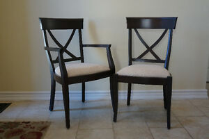 REDUCED - Just In Time For The Holidays - 6 Dining Room Chairs Cambridge Kitchener Area image 1