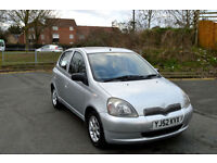 LATE 2002 52 TOYOTA YARIS 1.3 16v VVTi CDX AUTOMATIC 5 DOOR SILVER PX SWAP SWOP