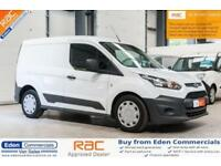 2015 64 FORD TRANSIT CONNECT 1.6 200 P/V 74 BHP DIESEL WHITE PANEL VAN