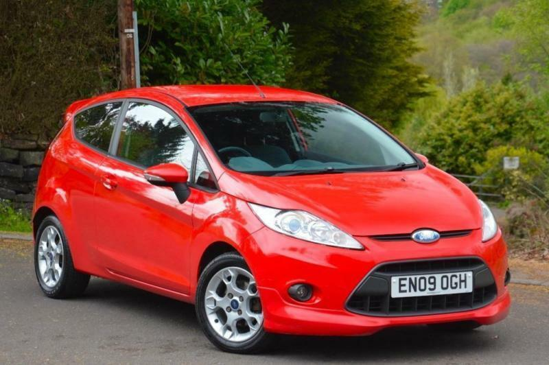 2009 ford fiesta 1 6 tdci zetec s 3dr in sheffield. Black Bedroom Furniture Sets. Home Design Ideas