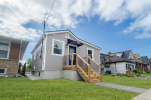 Fully Renovated Bungalow in Hamilton