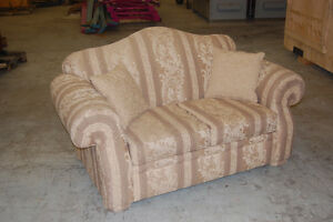 Matching Couch and Loveseat Set with Accent Pillows