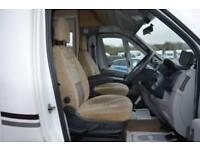 2011 SWIFT SUNDANCE 580PR 35 MULTIJET 2.2 DIESEL MANUAL GEARBOX 2 BERTH MOTORHOM