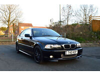 BMW 325 Ci 2.5 AUTOMATIC 2002MY M SPORT 2 DOOR COUPE BLACK PX SWAP SWOP