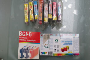 Ink Jet Cartridges Canon BCI-3 / BCI-6, Brother 61