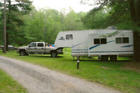27 ft. 5th Wheel Trailer with double slide