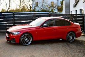 2013 BMW 3 SERIES 320D M SPORT MELBOURNE RED FBMWSH
