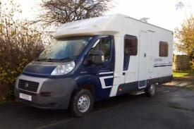 Swift Escape 664 low profile fixed bed motorhome, 4 berths, 4 seatbelts