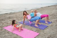 YOGA, MUSIC & MOVE PARTIES FOR KIDS & ADULTS