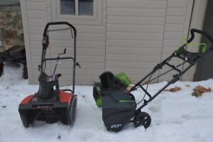 New King 18 Inch Electric Snow Thrower