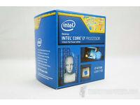 Intel i7-4770k CPU Retail Box Brand New Sealed 3yrs Warranty
