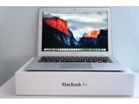 """***2014/15 MACBOOK AIR 13.3"""" BOXED 1.4GHz i5,4gb RAM, SSD HD,OFFICE 2016, PREMIUM SOFTWARE,"""
