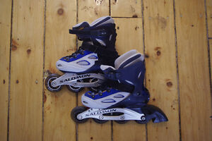 Salomon TR8, Extended DR100 Women's Roller Blades Size US 6 -$50