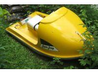 Vintage Late 70's AQUA LOOP Fiberglass Deep Vee Boat * Pre Jet Ski * Outboard Mt