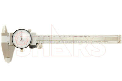 6 150mm 8 200mm Inch Metric Dual Reading Dial Caliper Mm Inspection Report A