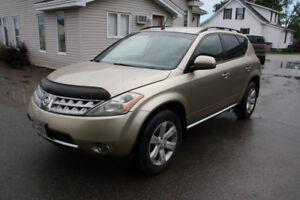 2007 Nissan Murano AWD $3500 ON THE ROAD
